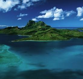 Paisaje de Islas Tropicales
