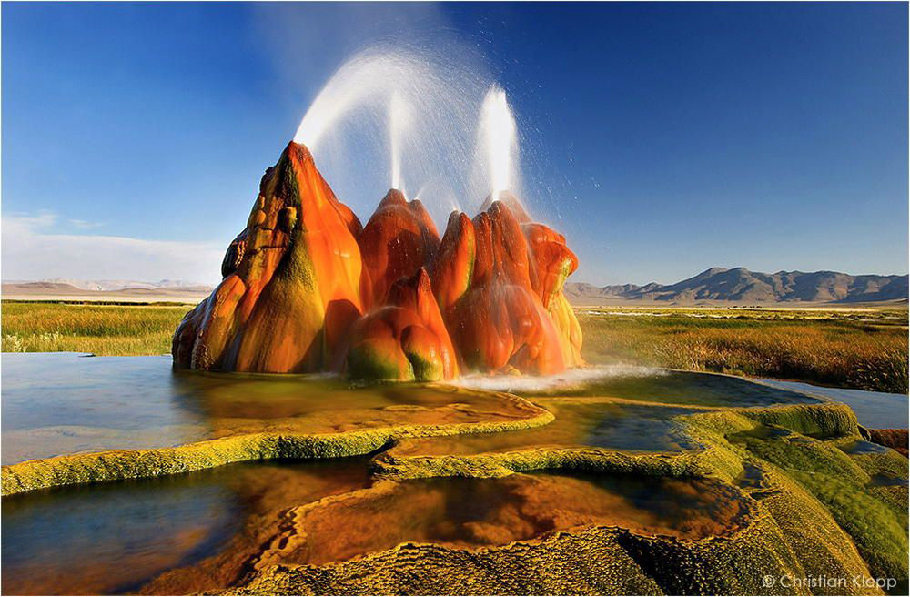 Geyser Fly, Nevada
