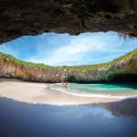 playa ocultas Islas Marieta