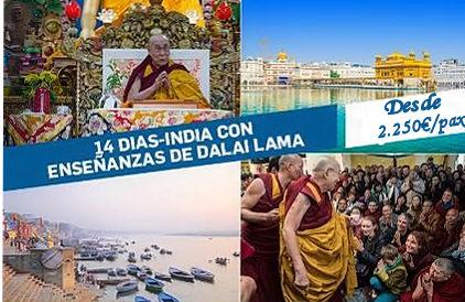 viaje espiritual dalai lama